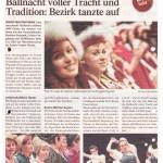 Ballnacht voller Tracht und Tradition: Bezirk tanzte auf