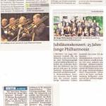 Jubiläumskonzert: 25 Jahre Junge Philharmonie