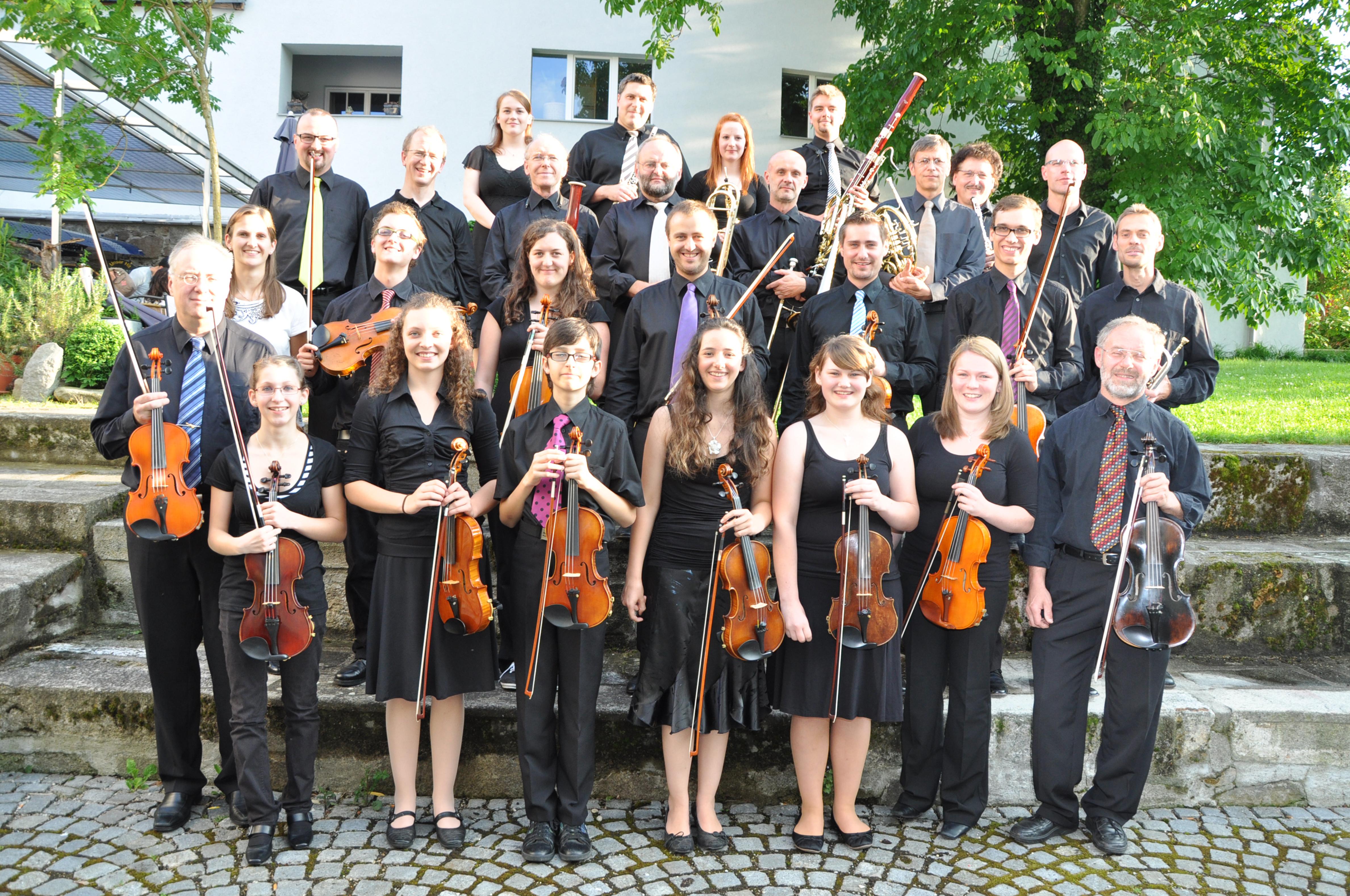 Gruppenfoto Sommerkonzert